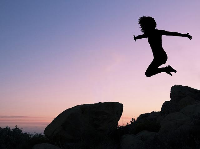 女 ジャンプ